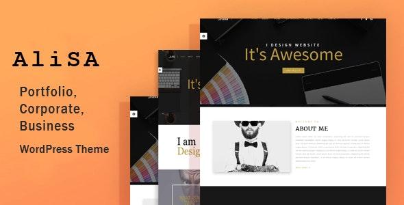 Alisa - Responsive WordPress Theme - Creative WordPress