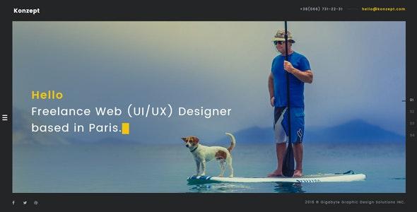 Konzept - Bootstrap Responsive Multi-Purpose HTML5 Template - Creative Site Templates
