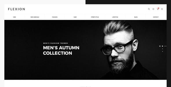 Flexion II - eCommerce & CMS PSD Templates