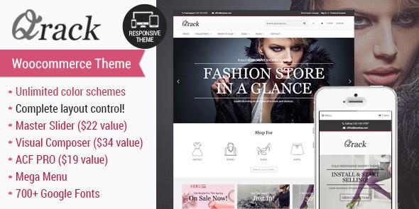 Qrack - Responsive Woocomerce Theme - WooCommerce eCommerce