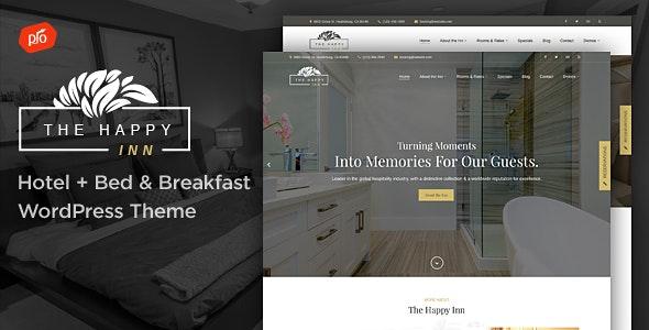 The Happy Inn - Hotel + Bed & Breakfast Theme - Travel Retail