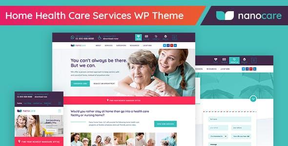 Home Health Care, Medical Care WordPress Theme - NanoCare