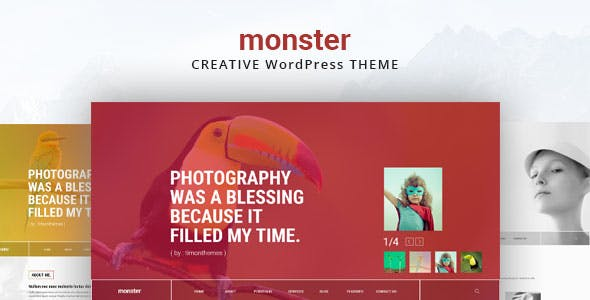 Monster Creative Theme
