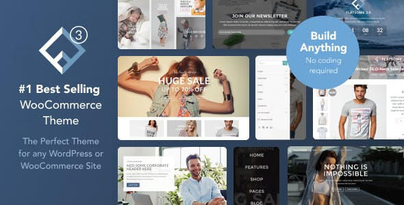 Sticky Header Templates from ThemeForest