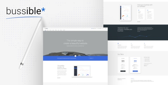 Bussible - Soft Material Corporate, Finance, Startup HTML Template - Business Corporate