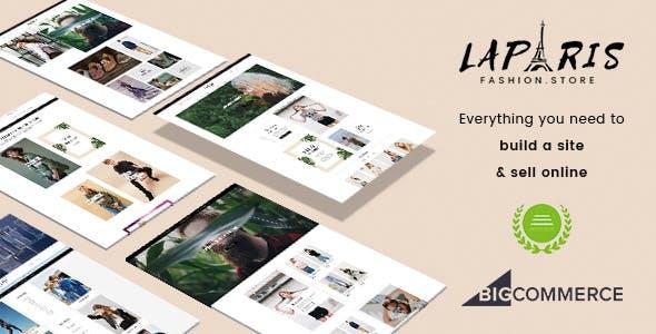 LaParis - Simple Creative Responsive BigCommerce Theme - Stencil Based