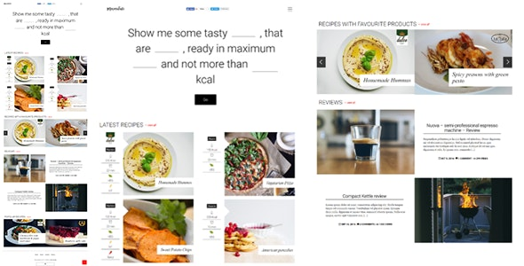 Marmalade - Modern Food Blog Theme - Food Retail