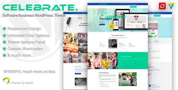 Celebrate - Startup Business Theme - Software Technology