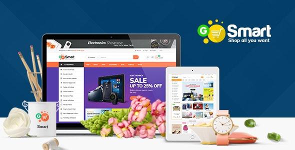 Gosmart Magento 2.2.x Template - Shopping Magento