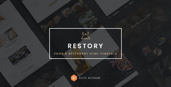 Restory - Restaurant & Cafe HTML5 Template - Food Retail