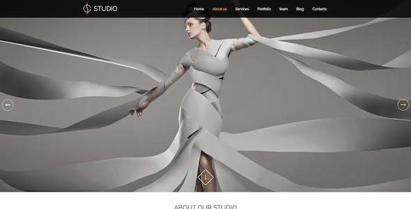 Creative Studio - PSD Template