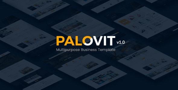 Construction Corporate Psd Template - Palovit - Corporate Photoshop