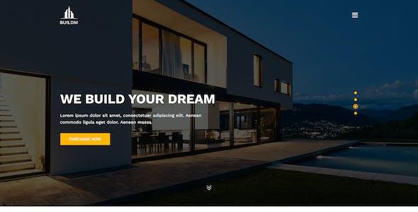 Buildm - Construction PSD Template