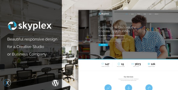 Skyplex WordPress - Creative Studio Theme - Creative WordPress