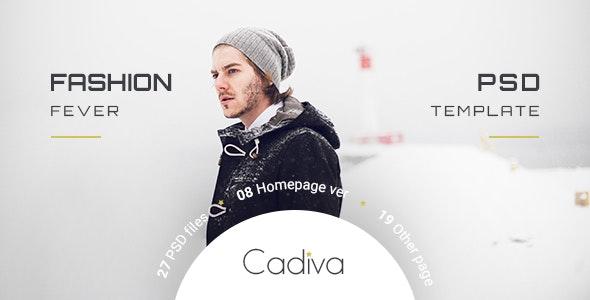 Cadiva Shop - Multi Concept PSD Templates - Fashion Retail