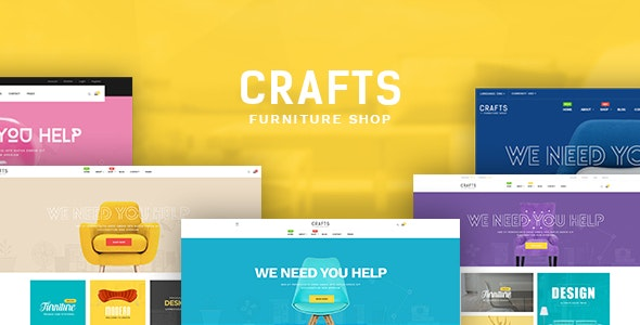 Craft - Furniture Shopify Theme - Shopify eCommerce