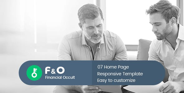 F&O - Consultant Finance HTML Templates
