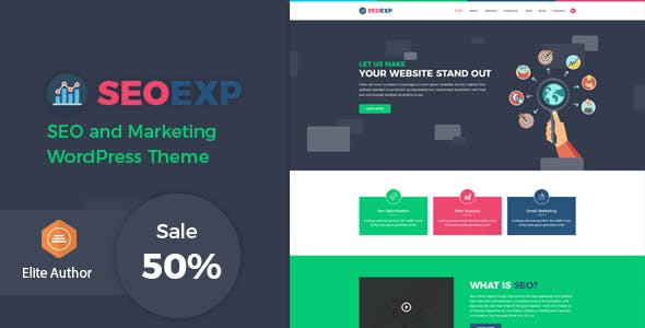 Seoexp - Marketing & SEO WordPress Theme