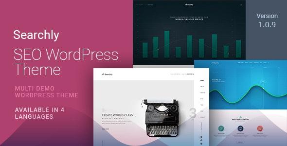 Searchly   SEO Marketing WordPress Theme - Marketing Corporate