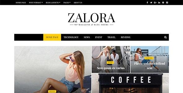 Zalora - Responsive Fashion Magazine Blog Theme - News / Editorial Blog / Magazine