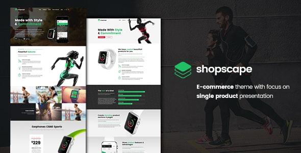 Shopscape - Single Product Presentation - WooCommerce eCommerce