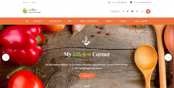 Weight Loss WordPress Website Templates from ThemeForest