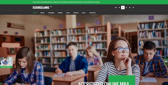 Megaland - Multi Purpose Landing Page Template