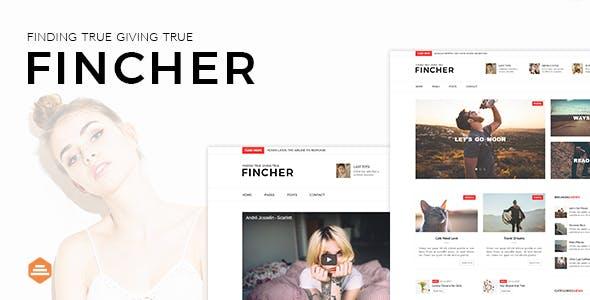 Fincher - Multi-Purpose Blog, Magazine & News Template