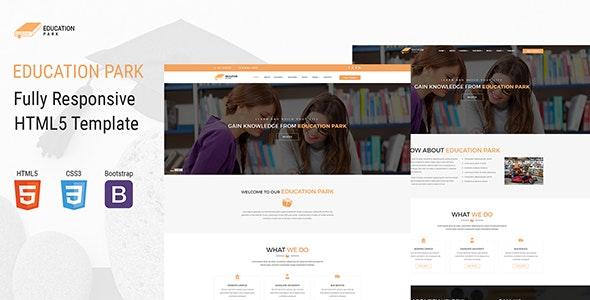 EducationPark - Education & University HTML Template - Corporate Site Templates