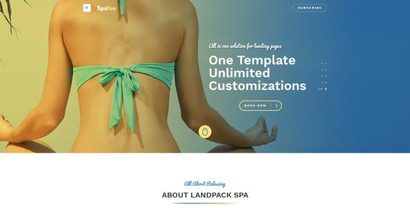 Spayou - Clean, Responsive Muse Theme for Spa and Beauty Centers