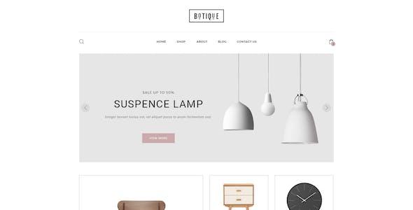 Botique - Responsive Multi-Purpose eCommerce PSD Template