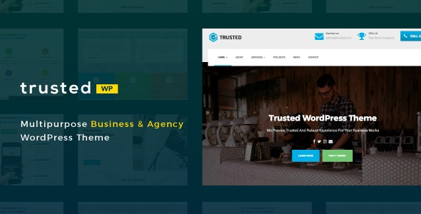Trusted - Multipurpose Business & Agency - Business Corporate