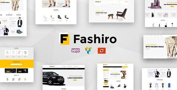 Fashiro - Multipurpose WooCommerce Theme
