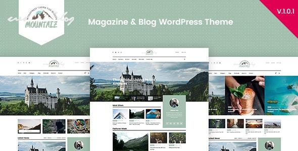 Mountaiz - Responsive Magazine & Blog WordPress Theme - Blog / Magazine WordPress