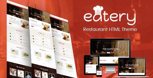 Eatery   Fast Food & Restaurant HTML template - Restaurants & Cafes Entertainment