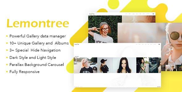 Lemontree - Photography & Portfolio WordPress Theme
