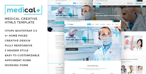 Medical - Health Care, Clinic HTML5 Template - Health & Beauty Retail