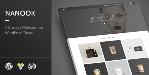 Nanook - Creative Modern Multipurpose WordPress Theme - Portfolio Creative