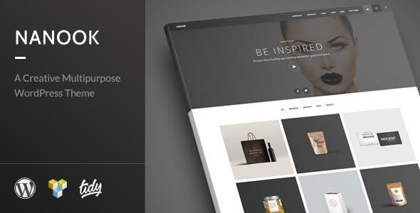 Nanook - Creative Modern Multipurpose WordPress Theme