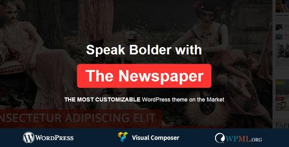 News Paper - Responsive WordPress Magazine Theme - Blog / Magazine WordPress