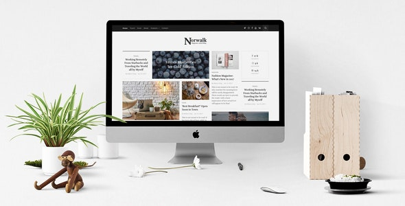 Norwalk – Responsive Magazine-Styled Blog WordPress Theme - Blog / Magazine WordPress