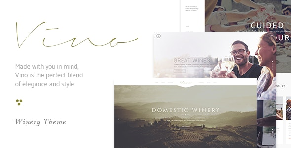 Vino - A Refined Winery, Wine Bar and Vineyard Theme - Food Retail