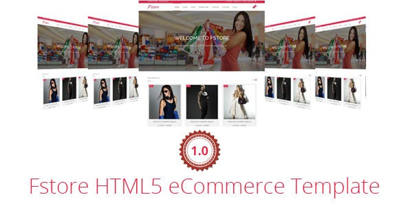 Fstore Bootstrap HTML5 eCommerce Template - Shopping Retail