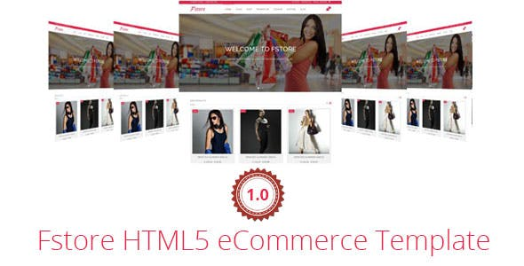 Fstore Bootstrap HTML5 eCommerce Template