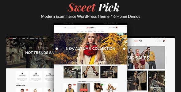 Sweet Pick | Modern E-commerce WordPress Theme - Fashion Retail