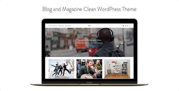 Bold - Blog and Magazine Clean WordPress Theme - Blog / Magazine WordPress