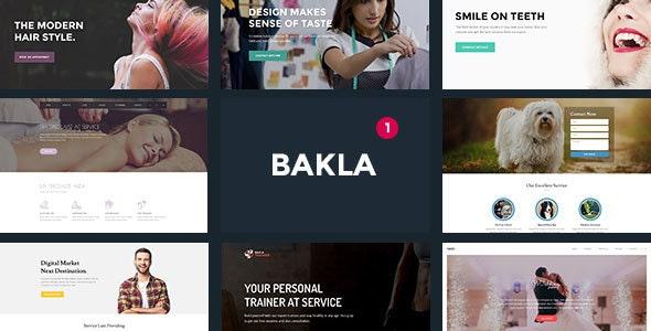 Bakla - Multipurpose Business Landing Page - Landing Pages Marketing