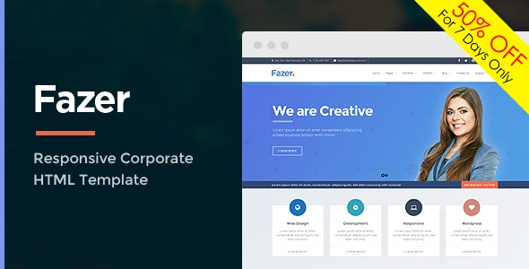 Fazer - Corporate Multipurpose HTML Template - Miscellaneous Specialty Pages