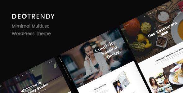 DeoTrendy   Multi-concept Creative WordPress Theme - Business Corporate