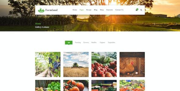 Farmland - Organic Food WooCommerce WordPress